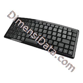 Jual Keyboard PROLINK Bluetooth Wireless [PKM-3810B]
